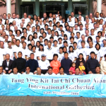 Hong Kong tai chi gathering